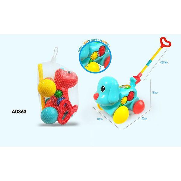 Anek Бебешка играчка за бутане Куче 0363