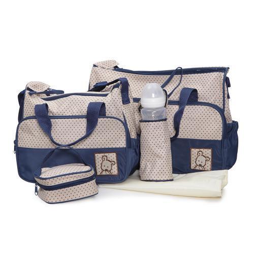 Moni Комплект чанти за аксесоари Stella тъмносин