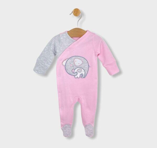 Rainy Бебешки гащеризон Слончета за момиче 48 - 74см.