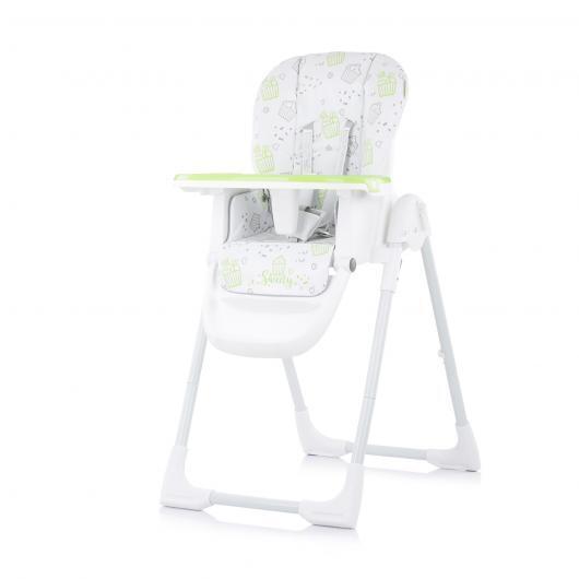 Chipolino Столче за хранене Sweety лайм STHSW02001LM