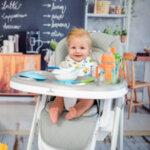 Lorelli Столче за хранене PARTY Blossom Leather 10100372145