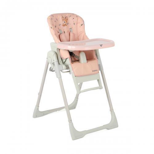 Cangaroo Столче за хранене Aspen 2 в 1 розов 108418