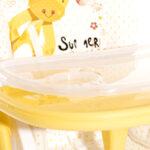 Lorelli Столче за хранене Cryspi Pink Hearts 10100442111