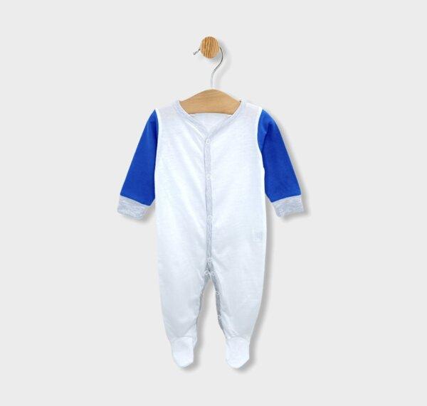 Rainy Бебешки гащеризон Soft за момче 56-68см. син