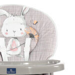 Lorelli Столче за хранене Cookie Grey Rabbits 10100242139