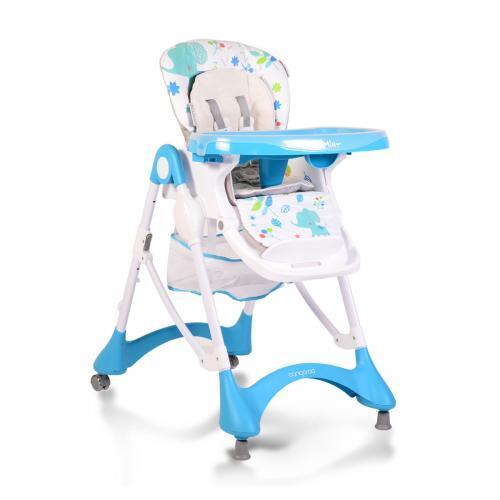 Cangaroo Столче за хранене Mint син YO-198