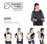 Mountain Buggy Мултифункционално кенгуру - Ерго раница Juno Carrier черно
