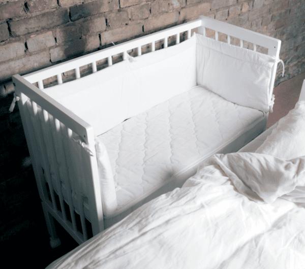 PPM Бебешко легло Herbie Mini Cot (бяло)