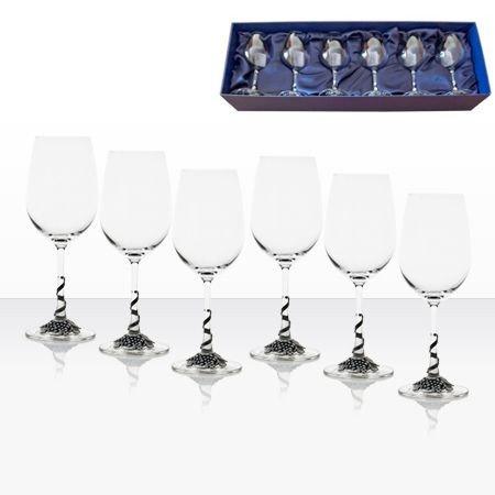 Чаши червено вино 6 бр. - AGL1606