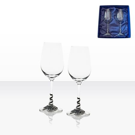 Чаши бяло вино 2 бр. - AGL1642