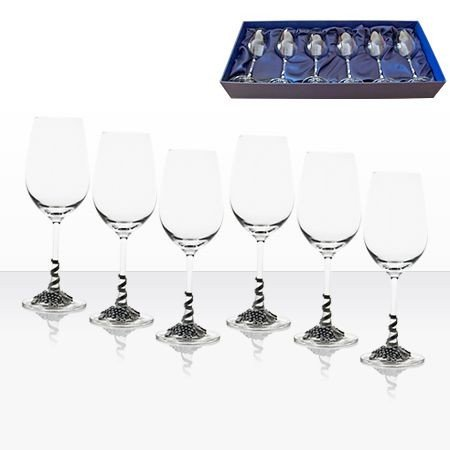 Чаши бяло вино 6 бр. -  AGL1646