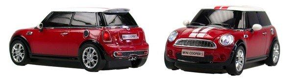 Компютърна мишка - модел - Mini Cooper - червен