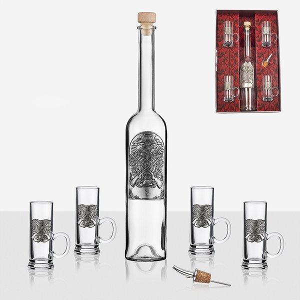 Сет бутилка - 4 чаши