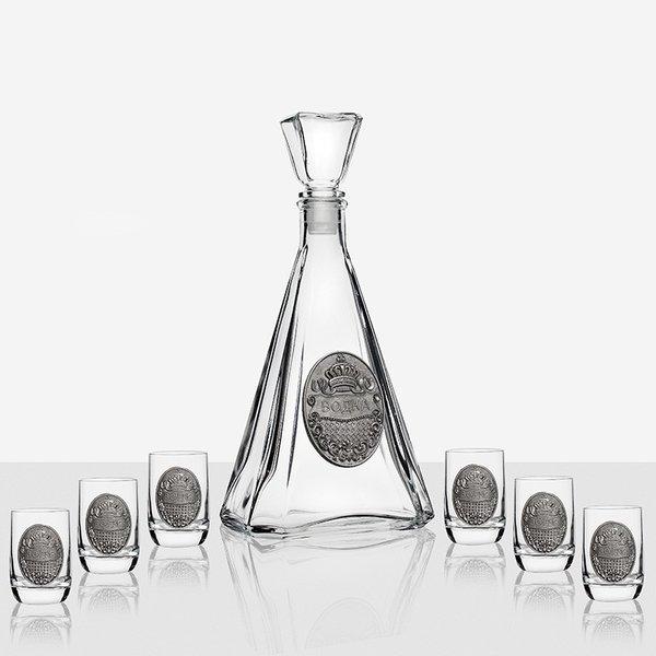 Сет бутилка - 6 чаши