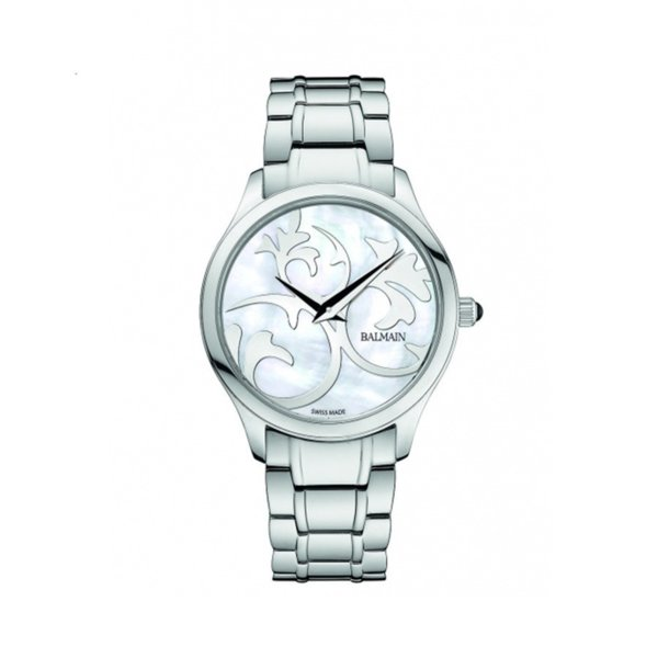 BALMAIN BALMAZING II MOTHER OF PEARL STEEL LADIES WATCH