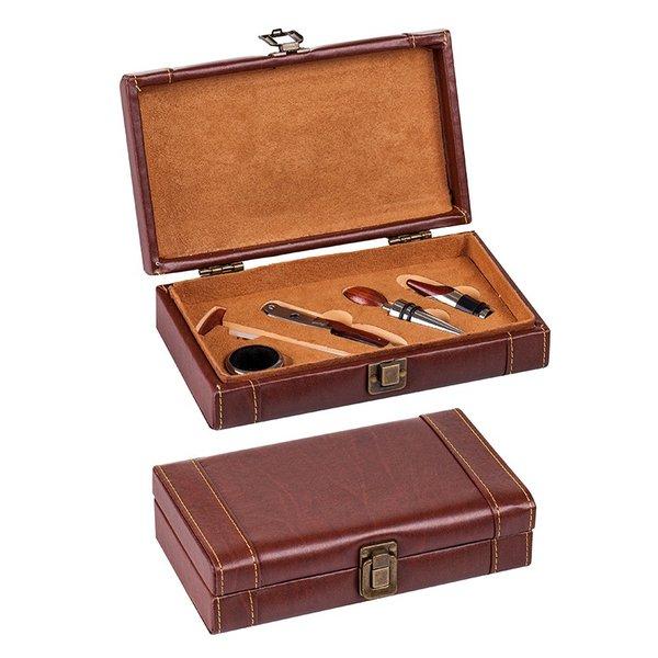 Комплект за вино-кутия с аксесоари