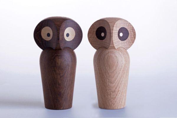 Дървена сова, голяма