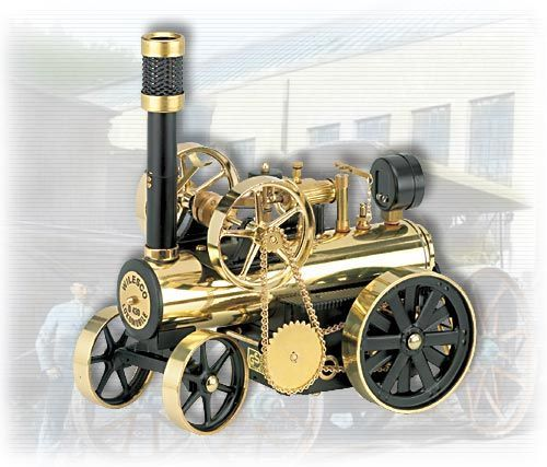 Автомобил с парен двигател Wilesco D430