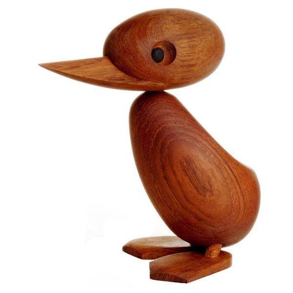 Мама патица, дървена