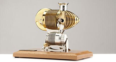 Мини двигател на Стърлинг Bohm HB24 - Classic Smoking