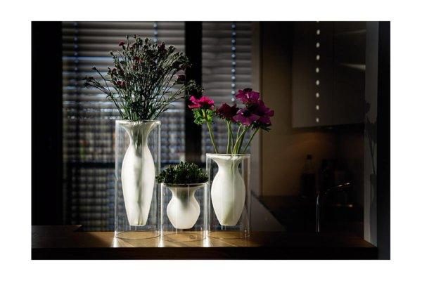 """PHILIPPI Стъклена ваза """"ESMERALDA""""- S размер"""
