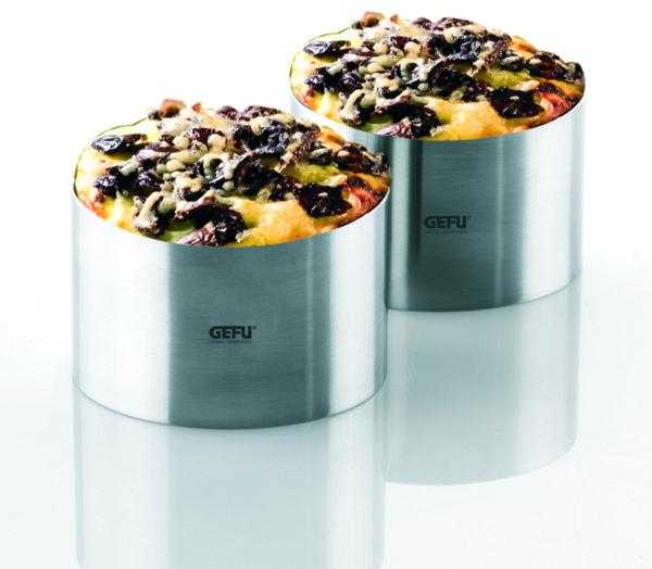 Комплект от 2 пръстена за десерти и салати