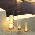 BLOMUS Свещник LUMBRA - прозрачно стъкло
