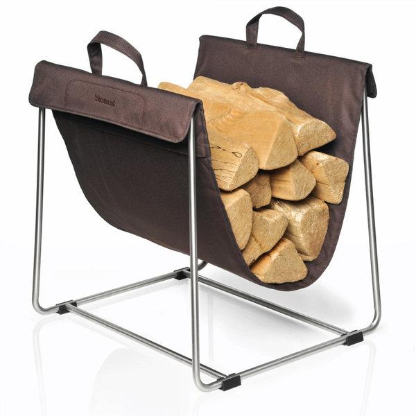 BLOMUS Поставка за дърва MADRA - кафява