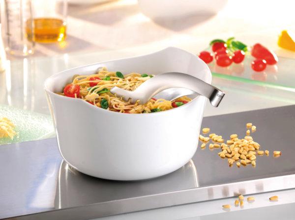 "Порцеланова купа за салата или спагети ""INSPIRIA"""