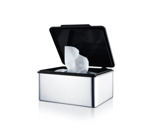 BLOMUS Кутия за салфетки / мокри кърпички MENOTO - полирана