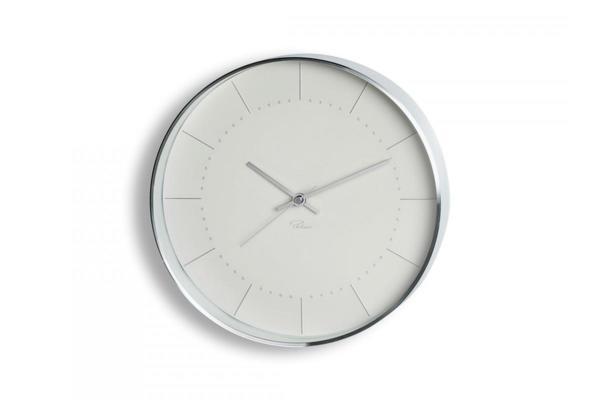 "PHILIPPI Часовник за стена ""TEMPUS"" - W4 - бял, Ф 25см"