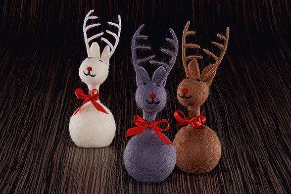 "PHILIPPI Коледна украса еленче ""OLE"""