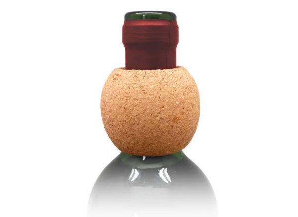 """Vin Bouquet Пръстен за вино """"Корк"""""""