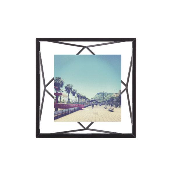 """UMBRA Рамка за снимки """"PRISMA"""" - цвят черен - 10x10см"""