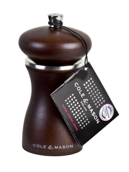 "COLE & MASON Мелничка за пипер ""SHERWOOD FOREST"" - 12 см. - цвят кафяв"