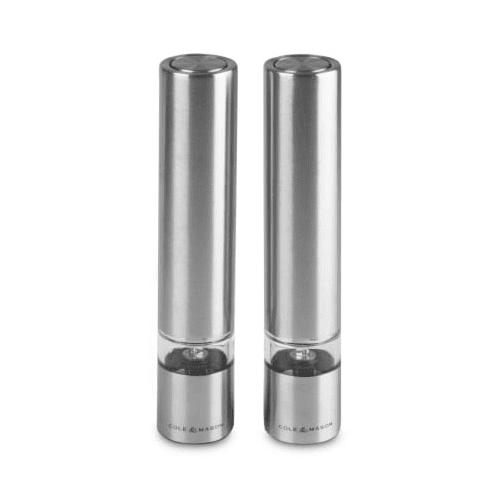 """COLE & MASON Комплект електрически мелнички за сол и пиперза сол и пипер """"CHISWICK MINI"""" - 17,5см"""