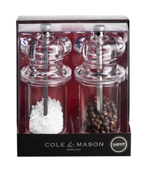 """COLE & MASON Комплект мелнички за сол и пипер """"505"""" - 14 см."""