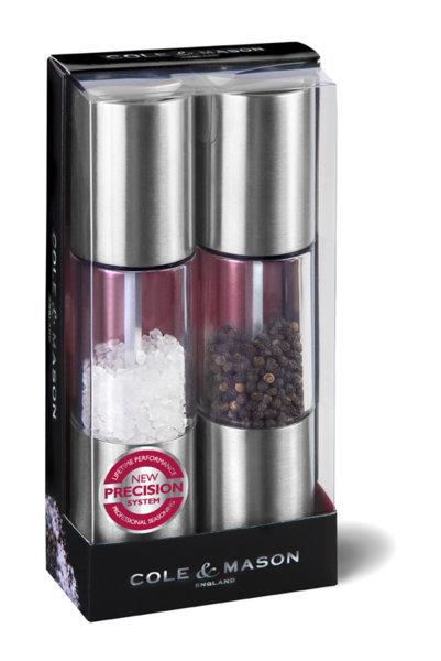 """COLE & MASON Комплект мелнички  за сол и пипер """"OSLO"""" - 18,5 см."""