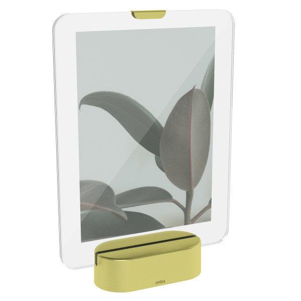 "UMBRA Рамка за снимки с LED светлина ""GLO"" - 13х18см - златист цвят"