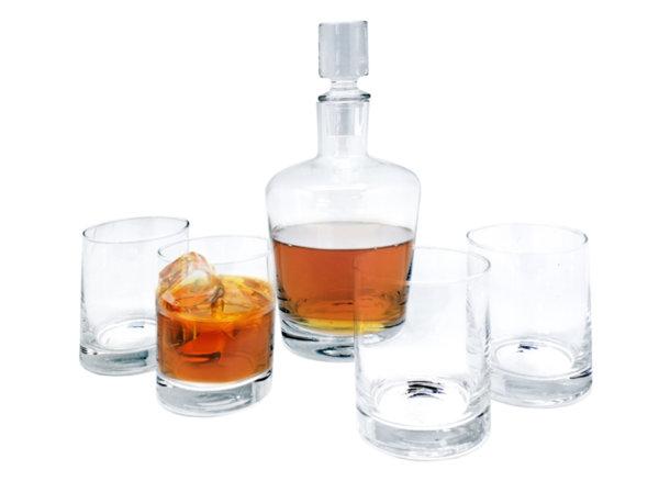 Vin Bouquet Кристален сет за уиски -  5 части