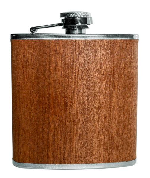 Vin Bouquet Комплект бутилка за алкохол (с дървена облицовка) и фуния