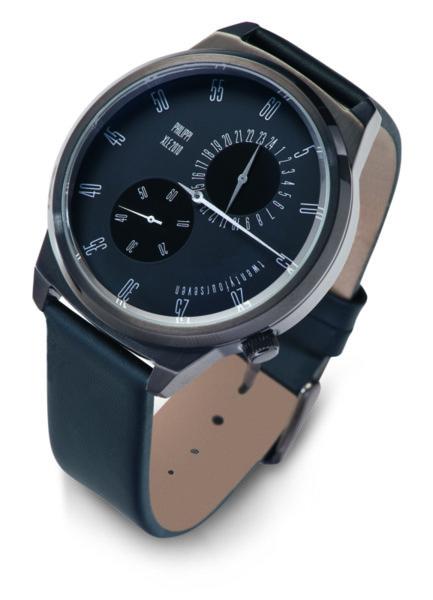 """PHILIPPI Мъжки ръчен часовник """"ТEMPUS"""" - O1"""
