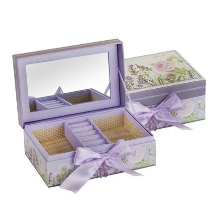 Лавандула кутия за бижута