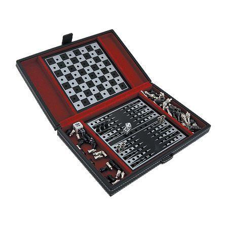 Шах и табла 13/20 см.