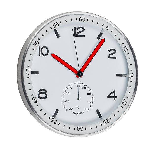 Стенен часовник с червени стрелки