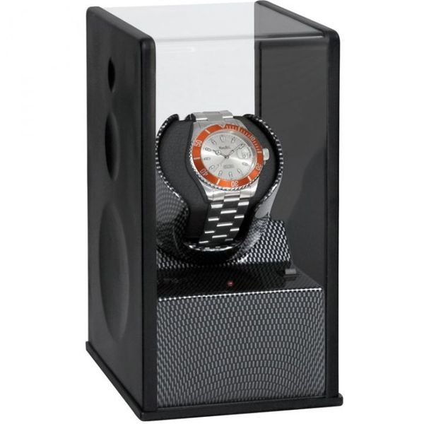 WATCH WINDERS Beco Technic Satin Carbon Expert Single
