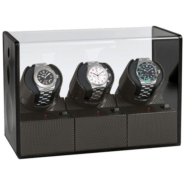 WATCH WINDERS Beco Technic Satin Carbon Expert 3