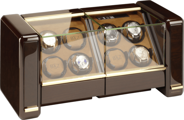 WATCH WINDERS Buben&Zörweg EVOLUTION 8 - TIME MOVER FOR 8 WATCHES