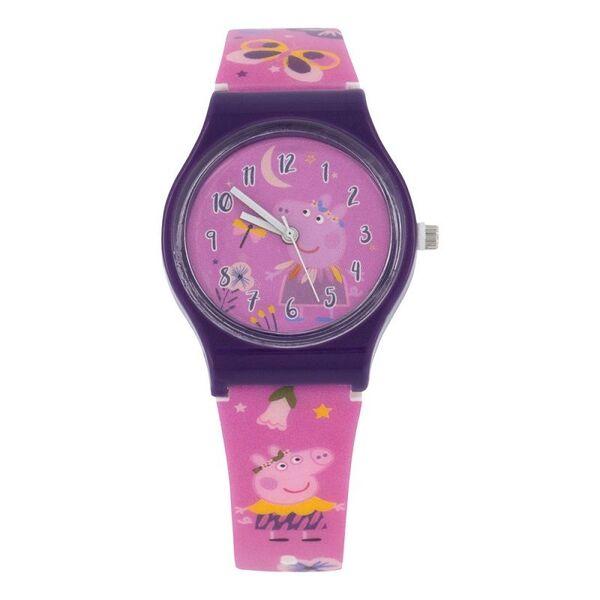 Детски часовник Peppa Pig в метална кутия