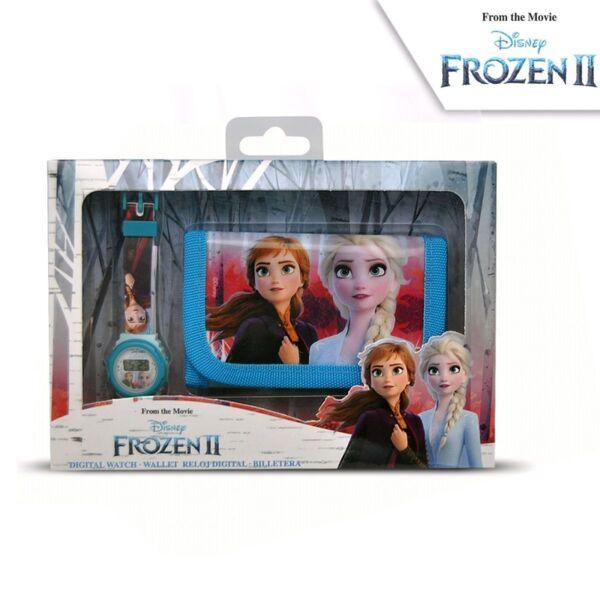Комплект детски часовник и портфейл Frozen